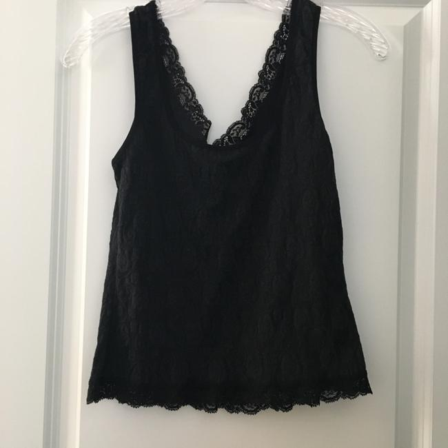 Arianne Camisole Lounge Sleep Sleeveless Top Black