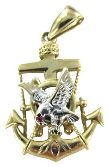 Preload https://img-static.tradesy.com/item/351635/yellow-gold-14k-pendant-mariner-anchor-boat-eagle-stone-boat-blessing-28dwt-0-0-540-540.jpg
