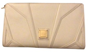 Herv Leger White Clutch