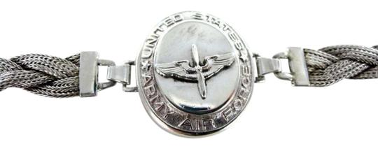 Preload https://item5.tradesy.com/images/silver-antique-wwii-united-states-army-airforce-925-sterling-sweetheart-bracelet-necklace-351644-0-0.jpg?width=440&height=440