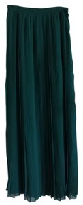 Sparkle & Fade Maxi Skirt Dark green