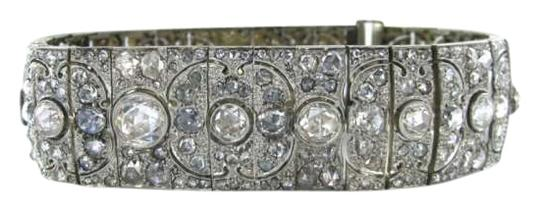 Preload https://img-static.tradesy.com/item/351695/silver-diamond-platinum-multiple-art-deco-antique-fine-luxury-bracelet-0-0-540-540.jpg