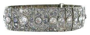 Vintage PLATINUM MULTIPLE DIAMOND BRACELET ART DECO ANTIQUE VINTAGE FINE JEWELRY LUXURY