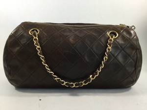 Chanel Vintage Barrel Collector Rare Shoulder Bag