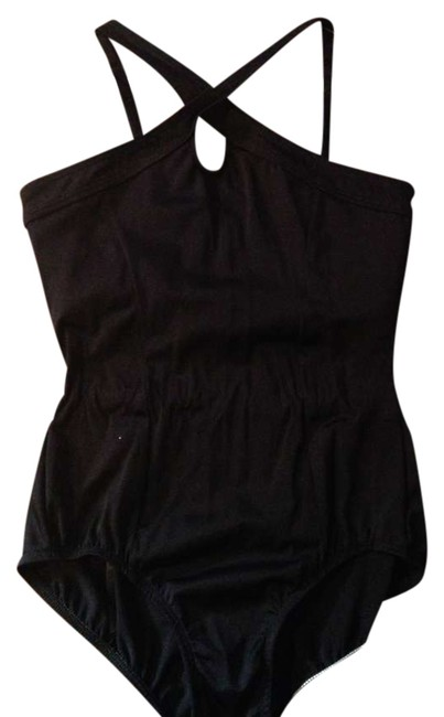 Preload https://item1.tradesy.com/images/premire-collection-by-body-wrappers-black-criss-cross-halter-leotard-351705-0-0.jpg?width=400&height=650