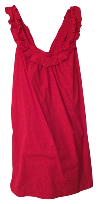 Preload https://item5.tradesy.com/images/anthropologie-dress-red-3517114-0-0.jpg?width=400&height=650