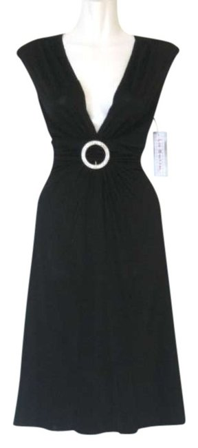 La Belle Little O-ring V-neck Gathered Straps Dress