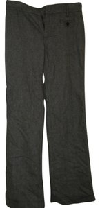 Gap Wool Blend Wide Leg Pants Black/white