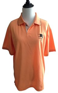 Burberry T Shirt Orange