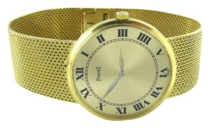 Plaget PIAGET 18K YELLOW GOLD BRACELET WATCH CLASSIC ANTIQUE 44.3DWT MESH BRACELET 18KT