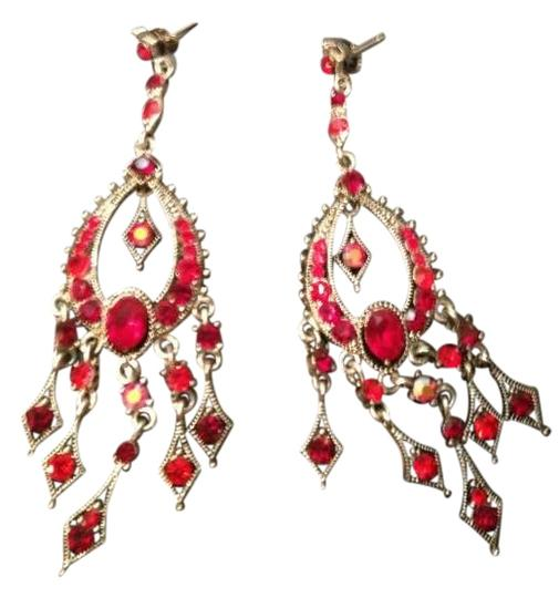 Other Red Earrings