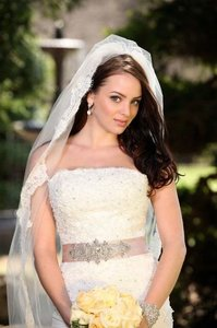 Cathedral Length Alencon Lace Veil