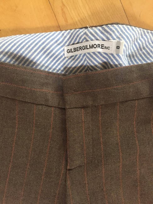 Other Trouser Pants brown pinstripe
