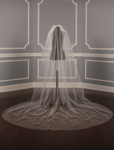 Your Dream Dress 5131 White Chapel Length Veil