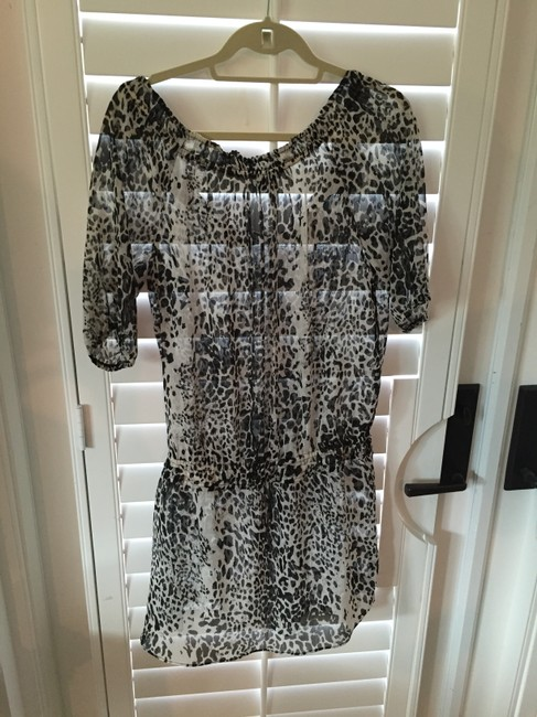 Russell Kemp short dress Black, white and silver on Tradesy