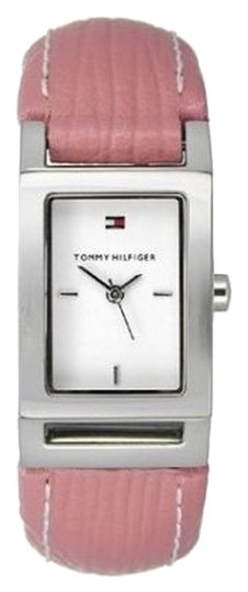 Preload https://img-static.tradesy.com/item/3520867/tommy-hilfiger-pink-ladies-1700393-white-analog-watch-0-0-540-540.jpg