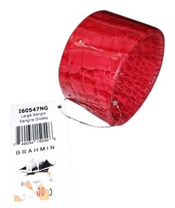 Brahmin Brahmin Sangria Glossy Melbourne Large Bangle