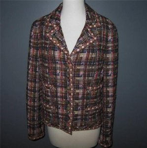 Chanel Chanel 05a Multi Tweed Jacket Blazer Lesage Trim