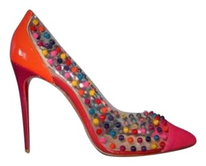 Christian Louboutin Louboutin Heels 100mm Multi-Color Pumps