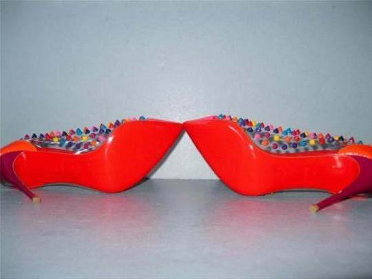 Christian Louboutin Heels 100mm Multi-Color Pumps