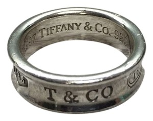 Tiffany & Co. Tiffany & Co. T & CO 1837 .925 Sterling Silver Ring Size 8 Authentic
