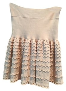 BCBGMAXAZRIA Mini Skirt Light Pink