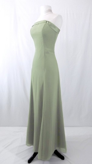 Alfred Angelo Sage Chiffon Style 6221 Formal Bridesmaid/Mob Dress Size 6 (S)