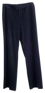 Style & Co Trouser Pants Black pinstripe