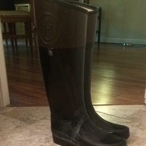 Hunter Black/brown Boots