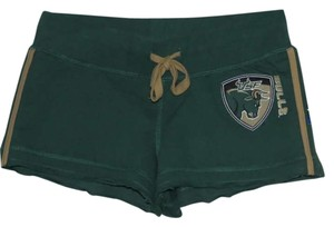 E5 College Classics Green/Gold Shorts