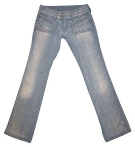 Diesel Designer Denim Style Italy Boot Cut Jeans-Acid