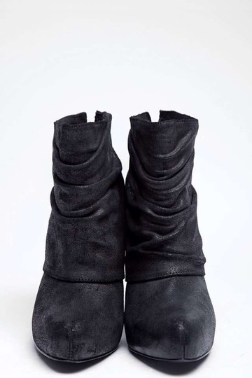Elizabeth and James dark gray black Boots
