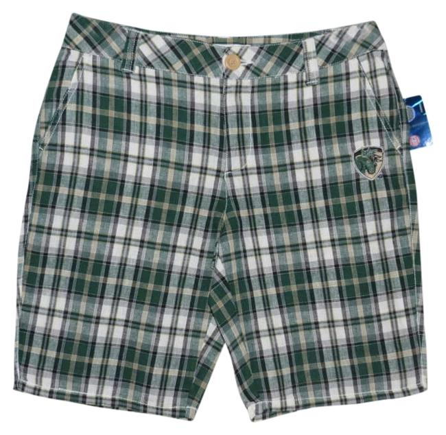 Preload https://img-static.tradesy.com/item/352349/e5-college-classics-green-plaid-misses-u-s-f-bulls-new-bermuda-shorts-size-6-s-28-0-0-650-650.jpg