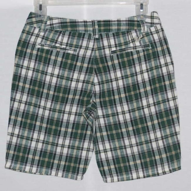 E5 College Classics Bermuda Shorts Green Plaid