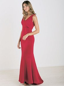 Alfred Angelo Claret Style 6353 Dress