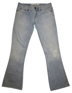 JOE'S Jeans Designer Stretch Distressed Boot Cut Jeans-Light Wash
