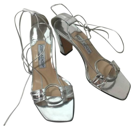 Preload https://item5.tradesy.com/images/silver-lace-up-gladiator-pump-sandals-size-us-65-regular-m-b-3524404-0-0.jpg?width=440&height=440