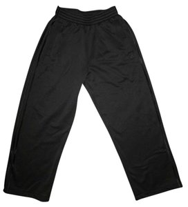 adidas Sweats Track Sporty Athletic Pants Black