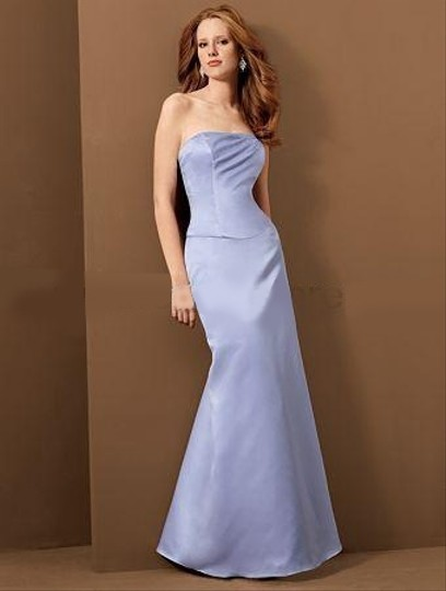 Alfred Angelo Lavender Style 6478 Dress