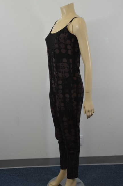 Diesel DIESEL DESIGNER BLACK AND BROWN JUMPSUIT SIZE EXTRA SMALL SH