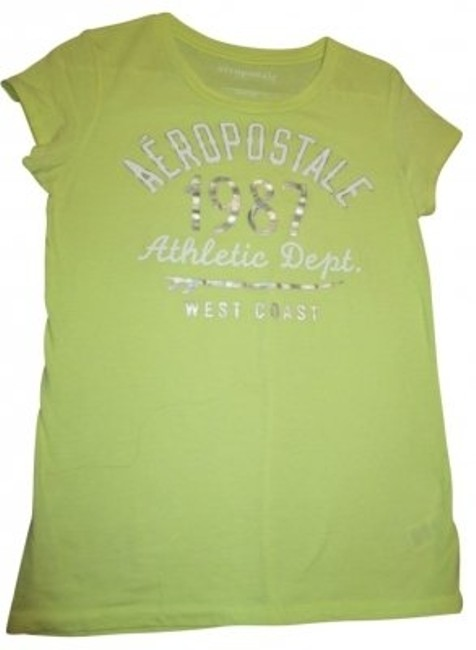 Preload https://img-static.tradesy.com/item/35250/aeropostale-light-yellow-tee-shirt-size-12-l-0-0-650-650.jpg