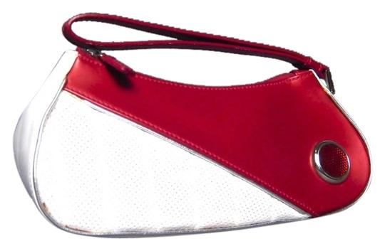 Preload https://item2.tradesy.com/images/dior-christian-white-1947-galliano-red-leather-wristlet-3525046-0-0.jpg?width=440&height=440