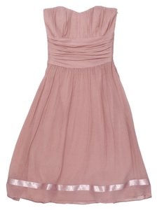 Ted Baker short dress Blush Silk Strapless on Tradesy
