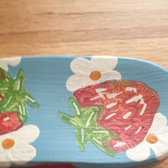 Dr. Scholl's Kiss My Feet Painted Strawberries Multi Sandals