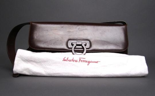 """Salvatore Ferragamo Made In Italy Serial Number: Aq-217283 Adjustable Strap Drop: 11 """" -- 12 """" Comes With Its Tag And Dustbag Shoulder Bag"""