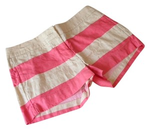 J.Crew Shorts salmon and cream