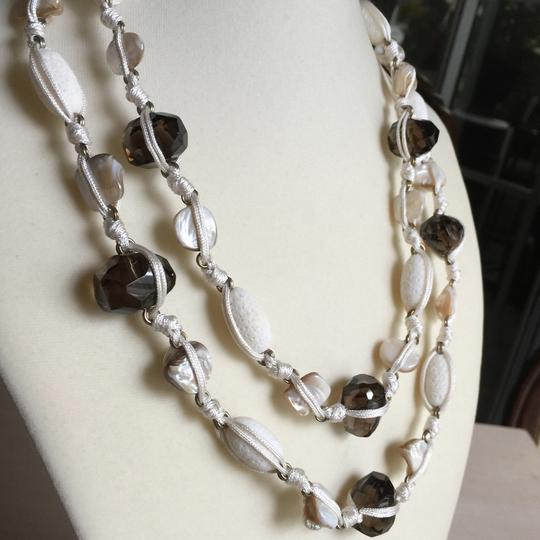 Stephen Dweck Stephen Dweck Shell and Smoky Topaz Necklace
