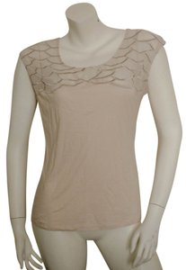 Ann Taylor Spring Summer Fall Top light peach/pink