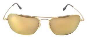 Ray-Ban Ray Ban RB 8034 040k/N3 Caravan ULTRA 18K Gold Polarized SUNGLASSES Small Limited Edition