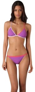 Marc by Marc Jacobs marc by marc jacobs bikini swimsuit pink purple color blocked
